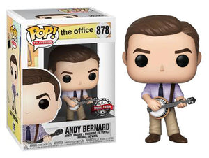 > Andy Bernard (w/Banjo, The Office) 878 - Special Edition Exclusive