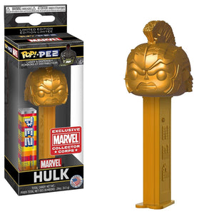 Pop Pez Hulk (Gold) - Marvel Collectors Corps Exclusive