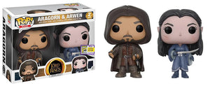 Aragorn & Arwen (The Lord of the Rings) 2-pk - 2017 SDCC Exclusive  [Condition: 7.5/10]