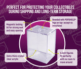 PopShield Armor Hard Protectors 8-Count - Stackable with Magnetic Lid