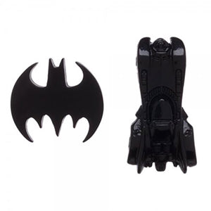 Batman Logo and Batmobile Lapel Pins