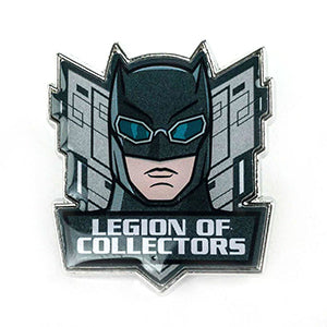 DC Heroes Legion of Collectors Exclusive Pins - Batman