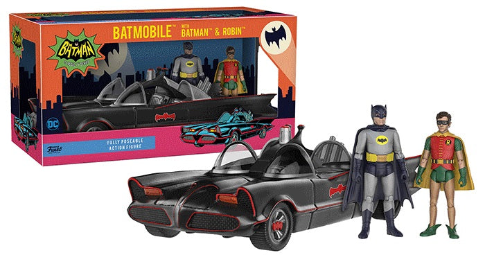 Batman w/Batmobile Action Figure  [Condition: 7/10]