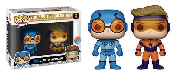 Blue Beetle & Booster Gold 2-pk - Previews Exclusive