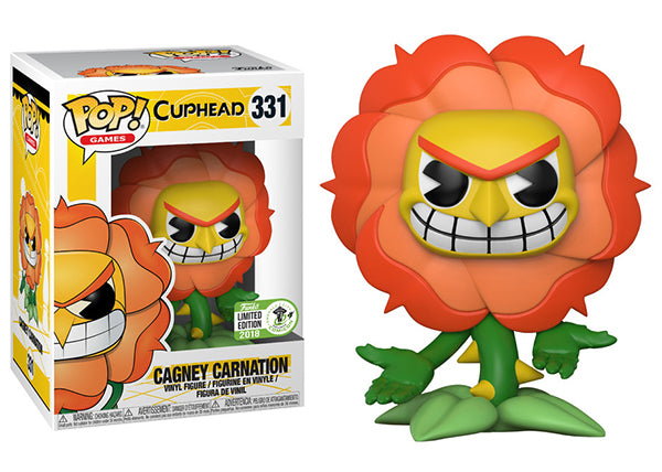 Cagney Carnation (Cuphead) 331 - 2018 ECCC Exclusive