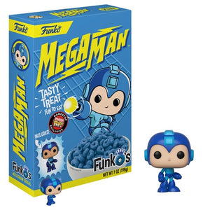 Mega Man FunkOs Cereal w/Pocket Pop - GameStop Exclusive [Damaged: 7/10]