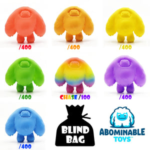 "One 3"" Mini Chomp - Random Blind Bag - Find the Rainbow Chase!!!"