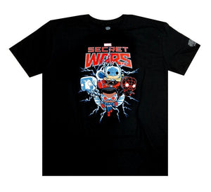 Pop! Tees Secret Wars T-Shirt M -  Marvel Collector Corps Exclusive