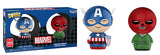 Dorbz Captain America & Red Skull 2-Pack - 2018 Summer Convention Exclusive