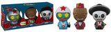 Dorbz Carlos, Dino & Guappo (Spastik Plastik) 3-Pack - 2017 Emerald City Comic Con Exclusive /2000 made