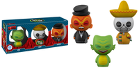 Dorbz Gill, Juan, & Luthor (Spastik Plastik) 3-Pack - Funko Shop Exclusive /3500 made  [Damaged: 6/10]