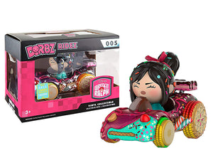 Dorbz Ridez Candy Kart (w/ Vanellope) - 2016 Summer Convention Exclusive [Damaged: 6/10]