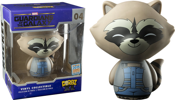 Dorbz XL Rocket Racoon (Nova Corps, Guardians of the Galaxy) 04 - 2015 Summer Convention Exclusive [Damaged: 7.5/10]