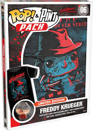 Pop! Tees & Pint Size Heroes Freddy Krueger (Nightmare on Elm Street)  (Size S)
