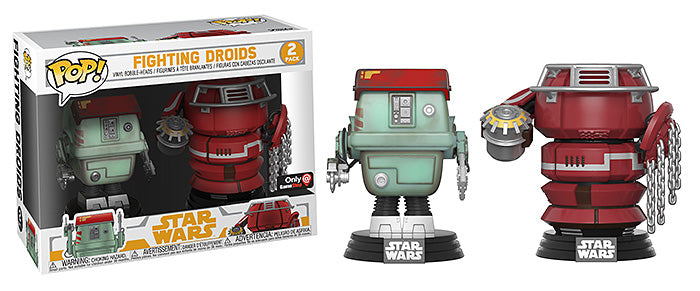 Fighting Droids 2-pk - GameStop Exclusive  [Damaged: 6/10]