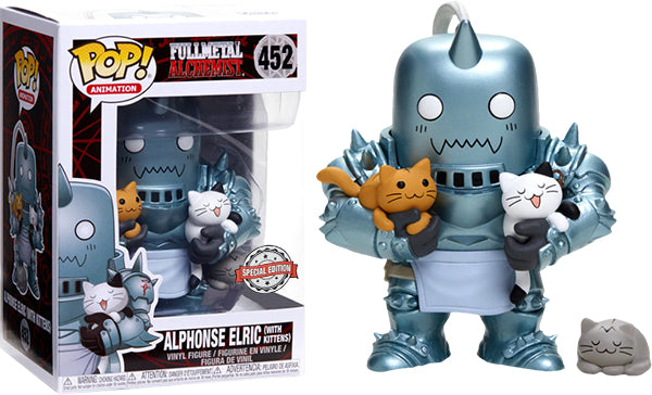 Alphonse Elric w/Kittens (Full Metal Alchemist) 452 - Special Edition Exclusive  [Damaged: 7/10]