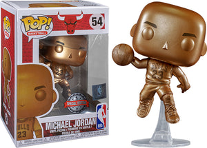 Michael Jordan (Bronze, Chicago Bulls, NBA) 54 - Special Edition Exclusive