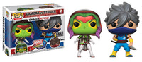 Gamora vs Strider (Player 2, Marvel vs Capcom) 2-pk - FYE Exclusive [Damaged: 7.5/10]