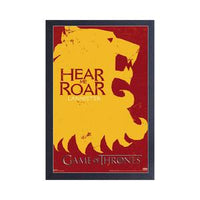 Game of Thrones House Sigils Print - Lannister