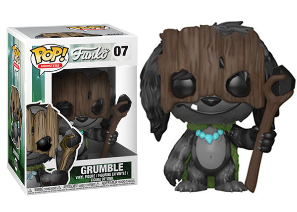Grumble (Monsters) 07  [Damaged: 6.5/10]