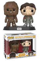 Han Solo & Chewbacca 2-pk - Smuggler's Bounty Exclusive  [Damaged: 7.5/10]