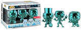 Phineas, Ezra, Gus 3-pk (Chrome, Haunted Mansion) - Target Exclusive  [Damaged: 7/10]