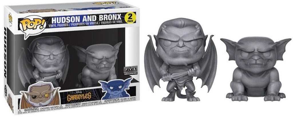 Hudson and Bronx (Stone, Gargoyles) 2-pk - Fye Exclusive  [Damaged: 7.5/10]