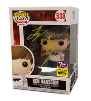 Signature Series Jeremy Ray Taylor Signed Pop - Ben Hanscom (IT)