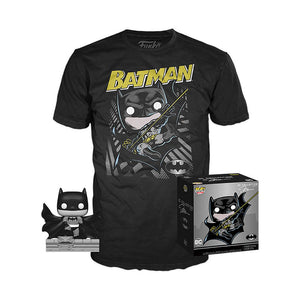 Batman (Hush, Black & White) w/T-Shirt (XL, Unsealed) 144 - GameStop Exclusive
