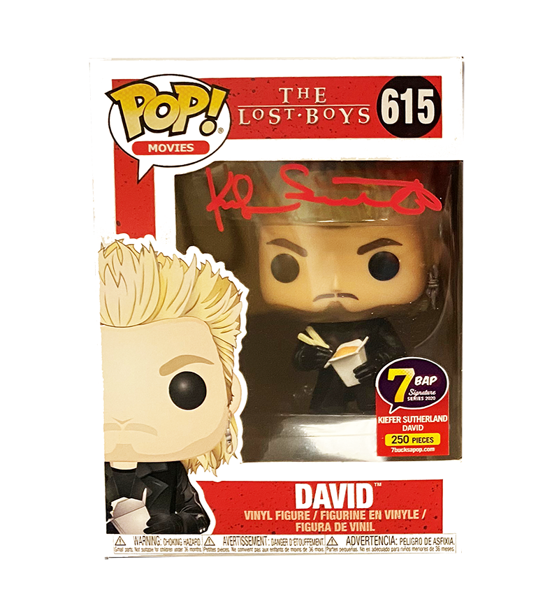 Signature Series Lost Boys Signed Pop - Kiefer Sutherland