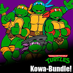 Signature Series Kowa-Bundle Signed Pops -  All four TMNT voice actors