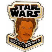 Smuggler's Bounty Star Wars Exclusive Pins - Lando Calrissian