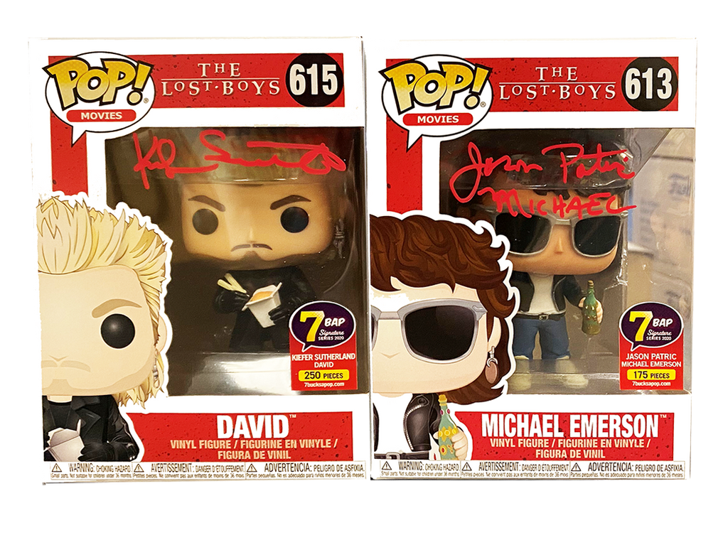Signature Series Bundle Lost Boys Signed Pops - Kiefer Sutherland & Jason Patric