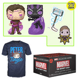 Marvel Collector Corps Box (The Infinity Saga, Unsealed, Shirt Size 3XL)