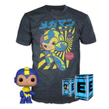 Mega Man Napalm Bomb and Napalm Bomb T-Shirt (M, Sealed) 384 - GameStop Exclusive  [Damaged: 7/10]