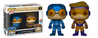 Blue Beetle & Booster Gold (Metallic) 2-pk - Previews Exclusive  [Damaged: 7/10]