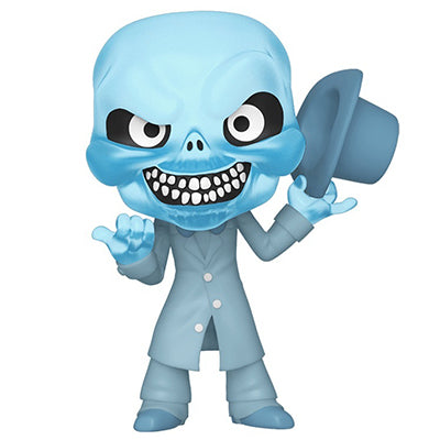 Funko Mini Vinyl Haunted Mansion - Ezra (Blue Glow, Hot Topic Exclusive, In Box)