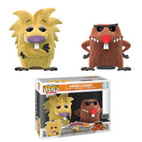 Norbert and Daggett (Flocked, Angry Beavers) 2-pk - FYE Exclusive  [Damaged: 7/10]
