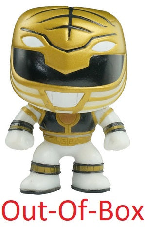 Out-Of-Box White Ranger (Glow in the Dark, Power Rangers) 22 - 2013 SDCC Exclusive /480 made