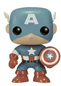 Out-Of-Box Captain America (Light Blue) 159 - Amazon Exclusive  [Damaged: 7/10]