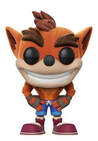 Out-Of-Box Crash Bandicoot (Flocked) 273 - Gamestop Exclusive