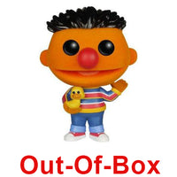 Out-Of-Box Ernie (Flocked, Sesame Street) 05 - Barnes & Noble Exclusive