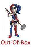 Out-Of-Box Rock Candy Harley Quinn (New 52) - 2016 Summer Convention Exclusive  **Missing Stand**