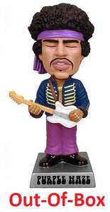 Out-of-Box Funko Wacky Wobbler Purple Haze (Jimi Hendrix)