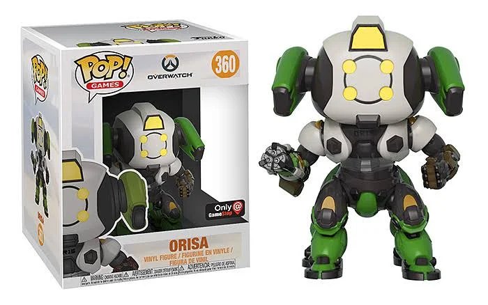Orisa (6-inch, OR-15, Overwatch) 360 - GameStop Exclusive  [Damaged: 7.5/10]