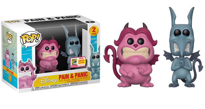 Pain & Panic (Hercules) - 2018 SDCC Exclusive [Condition: 7/10]