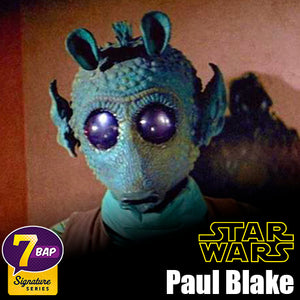 Signature Series Paul Blake Signed Pop - Greedo (Star Wars)