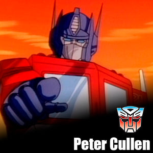 Signature Series Peter Cullen Signed Pop - Optimus Prime (Transformers)