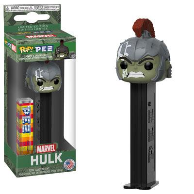 Pop Pez Hulk (Green Box, Thor Ragnarok)