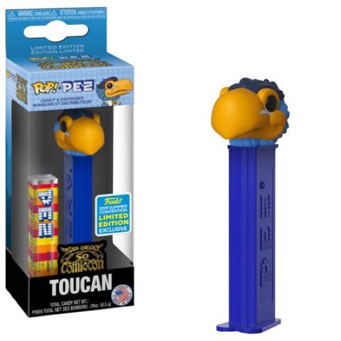 Pop Pez Toucan (Ad Icons) - 2019 Summer Convention Exclusive